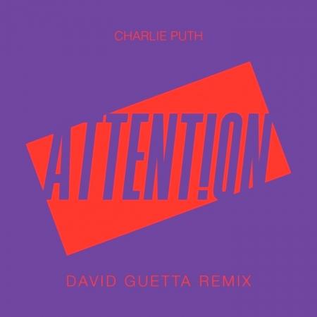 Attention (David Guetta Remix) 專輯封面