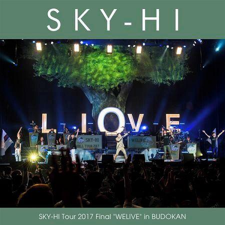"SKY-HI Tour 2017 Final ""WELIVE"" in BUDOKAN 專輯封面"
