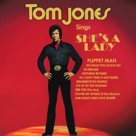 Tom Jones Sings She's A Lady 專輯封面