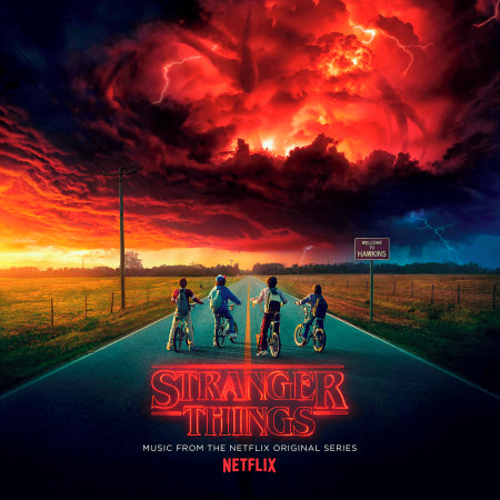 怪奇物語 電視劇原聲帶 Stranger Things: Music from the Netflix Original Series 專輯封面