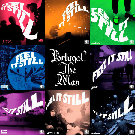 Feel It Still (The Remixes) 專輯封面
