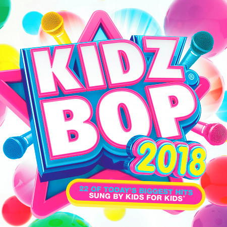 KIDZ BOP 2018 專輯封面