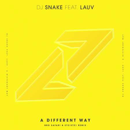 A Different Way (feat. Lauv) [Bro Safari & ETC!ETC! Remix] 專輯封面