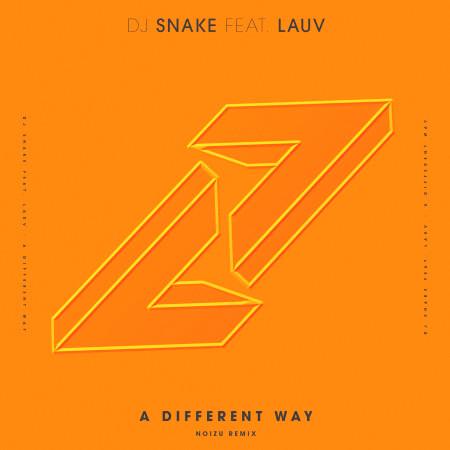 A Different Way (feat. Lauv) [Noizu Remix] 專輯封面