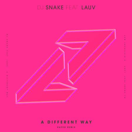 A Different Way (feat. Lauv) [Kayzo Remix] 專輯封面