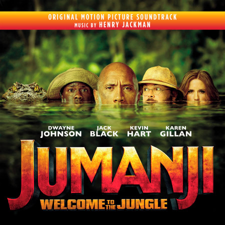Jumanji: Welcome to the Jungle (Original Motion Picture Soundtrack) 專輯封面