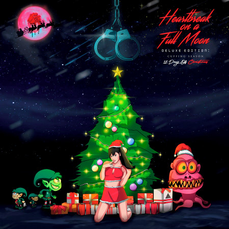 Heartbreak On A Full Moon Deluxe Edition: Cuffing Season - 12 Days Of Christmas 專輯封面
