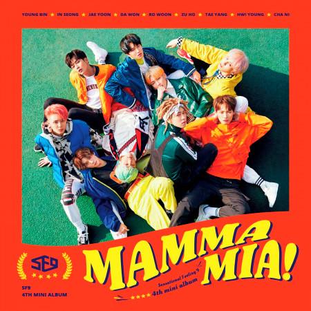 SF9第4張迷你專輯 [MAMMA MIA!] 專輯封面