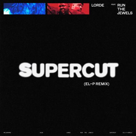 Supercut (El-P Remix) 專輯封面