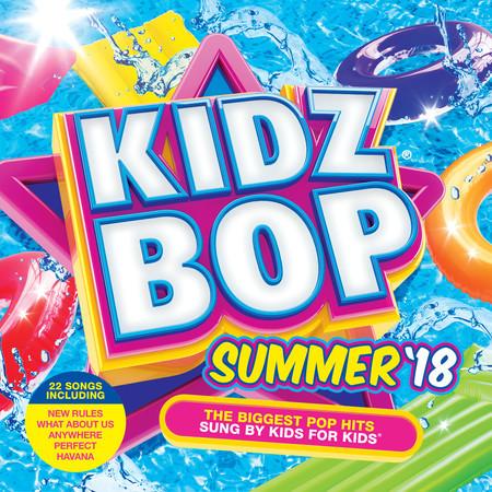 KIDZ BOP Summer '18 專輯封面