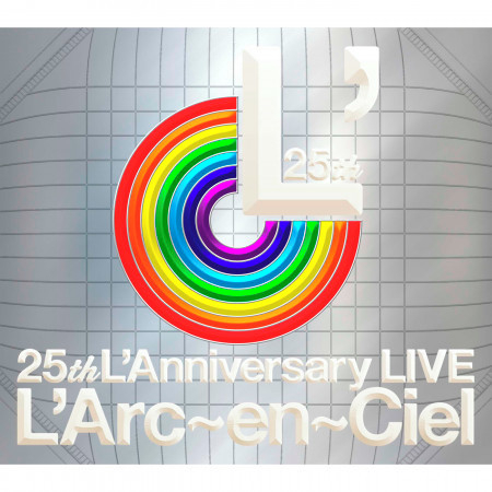25th L'Anniversary Live 專輯封面