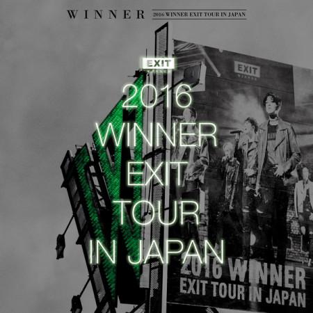 2016 WINNER EXIT TOUR IN JAPAN 專輯封面
