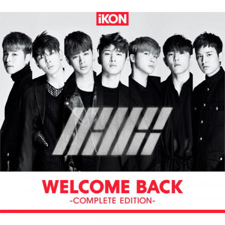 WELCOME BACK -COMPLETE EDITION- 專輯封面