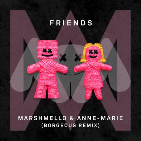FRIENDS (Borgeous Remix) 專輯封面