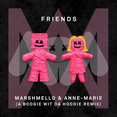 FRIENDS (A Boogie Wit Da Hoodie Remix) 專輯封面