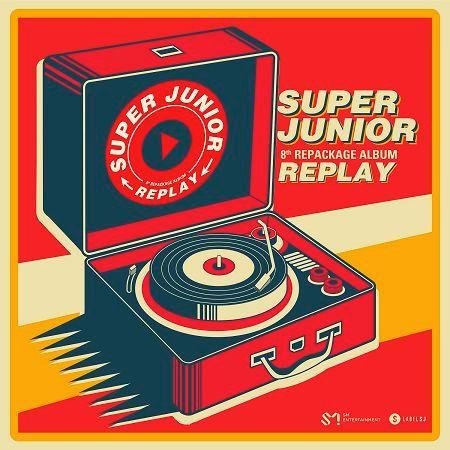 第八張正規改版專輯 『REPLAY』 專輯封面