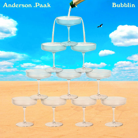Bubblin 專輯封面