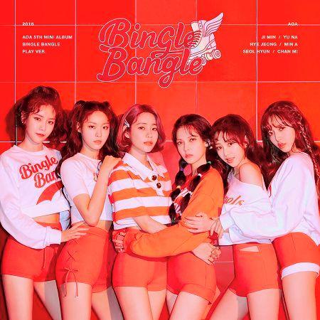 AOA第五張迷你專輯BINGLE BANGLE 專輯封面