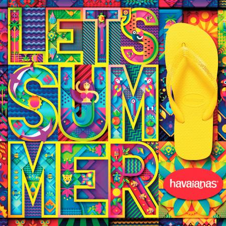 Let's Summer (Veraneemos) [feat. Lellêzinha] 專輯封面