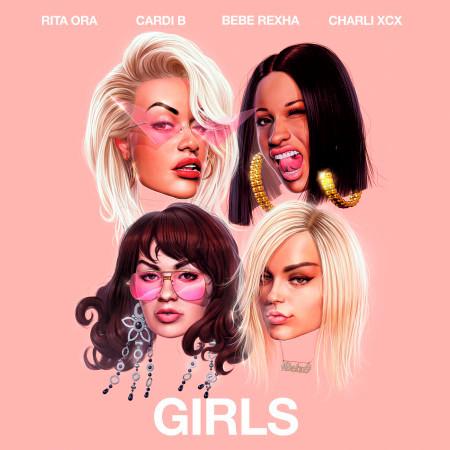 Girls (feat. Cardi B, Bebe Rexha & Charli XCX) [Steve Aoki Remix] 專輯封面