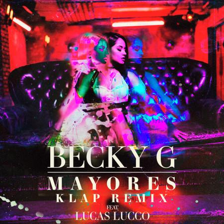 Mayores (feat. Lucas Lucco) [KLAP Remix] 專輯封面