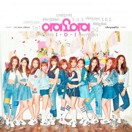 I.O.I 1st Mini Album 'Chrysalis' 專輯封面