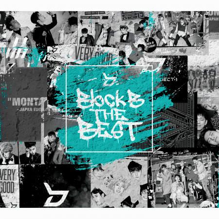 Block B THE BEST 專輯封面