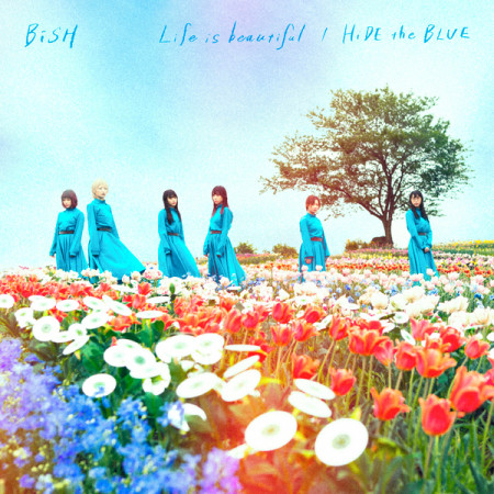 Life is beautiful / HiDE the BLUE 專輯封面