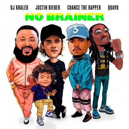 No Brainer (feat. Justin Bieber, Chance the Rapper & Quavo) 專輯封面