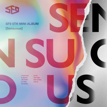 SF9 迷你五輯Sensuous 專輯封面