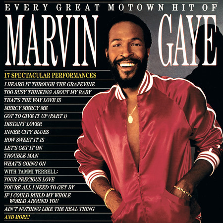 Every Great Motown Hit Of Marvin Gaye 專輯封面