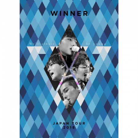 WINNER JAPAN TOUR 2018 ~We'll always be young~ 專輯封面