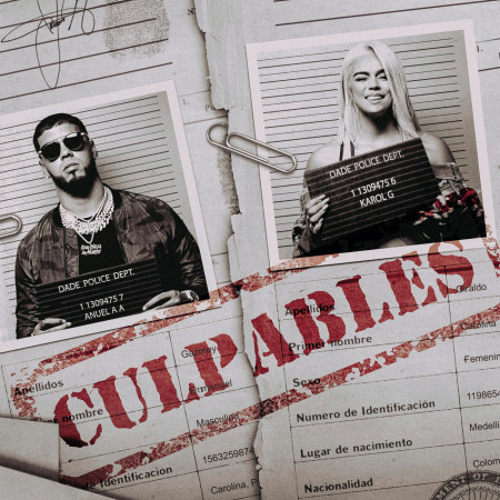 Culpables 專輯封面