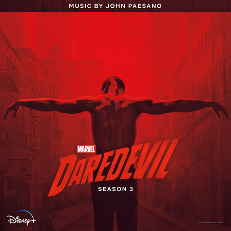 Daredevil: Season 3 (Original Soundtrack Album) 專輯封面