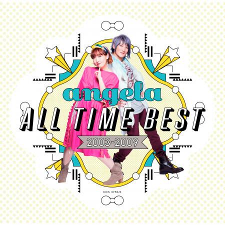 angela All Time Best 2003-2009 專輯封面