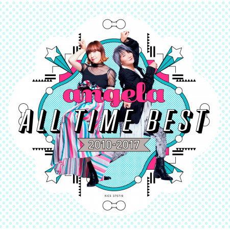 angela All Time Best 2010-2017 專輯封面