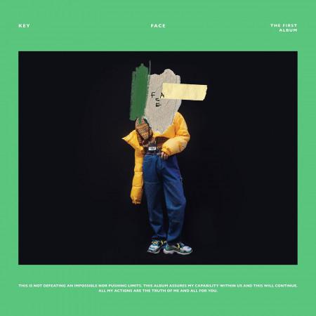 首張正規專輯『FACE』 專輯封面