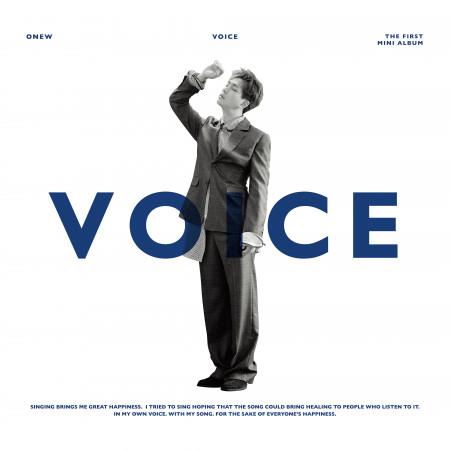 首張迷你專輯『VOICE』 專輯封面