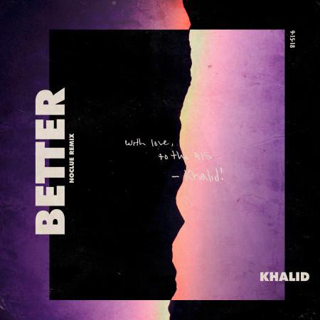Better (Noclue Remix) 專輯封面