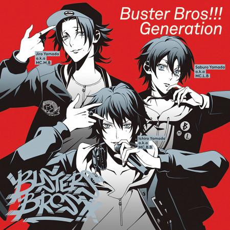 催眠麥克風 -Buster Bros!!! Generation- 專輯封面