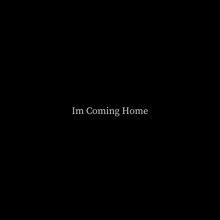 I'm Coming Home 專輯封面