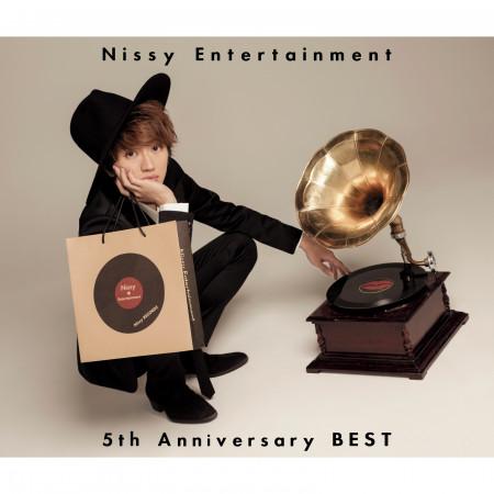 Nissy Entertainment 5th Anniversary BEST 專輯封面