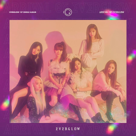 ARRIVAL OF EVERGLOW 專輯封面