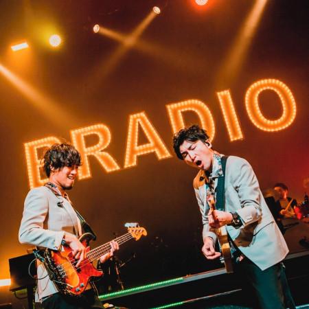 Bradio Live Best, Pt. 2 專輯封面