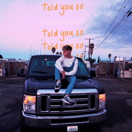 Told You So (Acoustic) 專輯封面