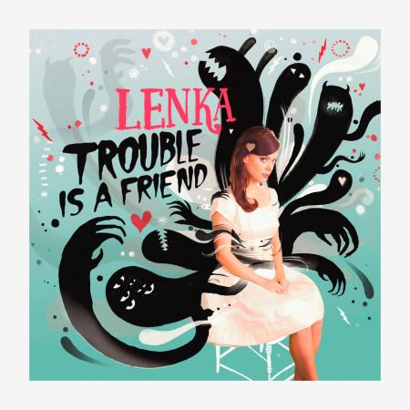 Trouble Is A Friend - The Remixes 專輯封面