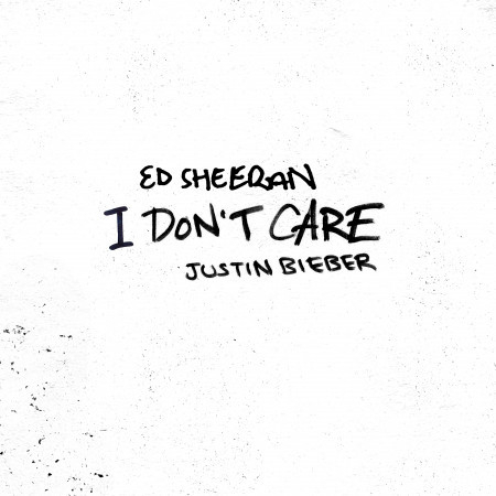 I Don't Care (with Justin Bieber) 專輯封面
