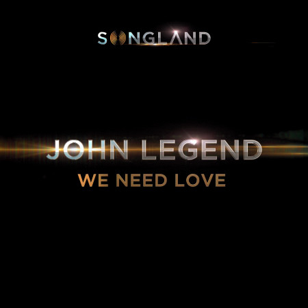 We Need Love (from Songland) 專輯封面