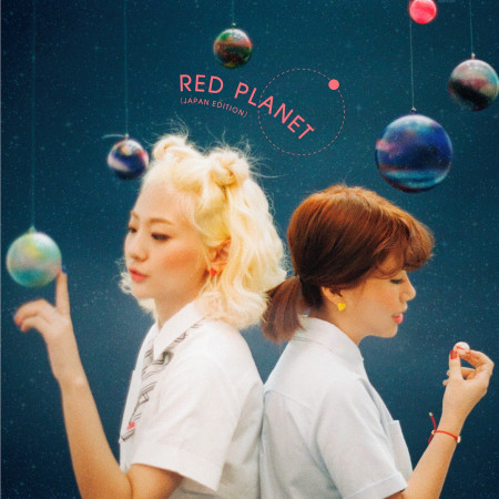 RED PLANET (JAPAN EDITION) 專輯封面