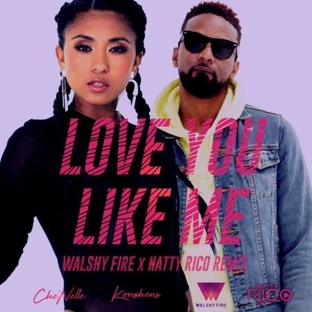 Love You Like Me (Walshy Fire x Natty Rico Remix) 專輯封面